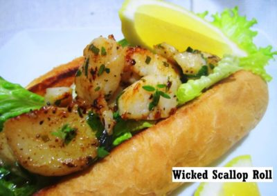 Wicked Scallop Roll 4